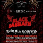 GMM'12 – Sabbath, Motley, Machine Head!