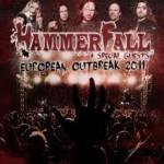 Hammerfall klubtour i Sverige – meget tæt på DK!