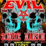 Rob Zombie + Marilyn Manson rammer Valby Hallen til December