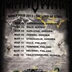 Manowar // Vega 4/3 2013