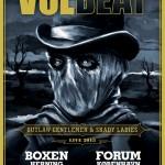 Volbeat til Danmark til vinter!