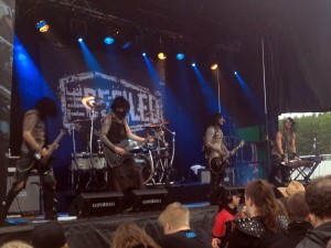 Copenhell torsdag the defiled