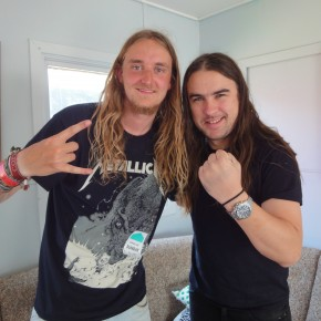 Interview med Airbourne