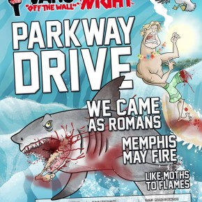 Vans Off The Wall Music Night med australske Parkway Drive m.fl til VEGA