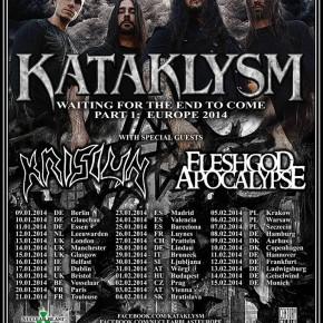 Kataklysm, Krisiun + Fleshgod Apocalypse til Pumpehuset + Voxhall
