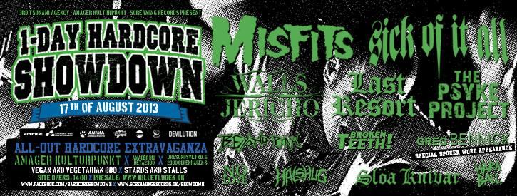 hardcore showdown