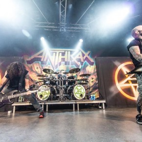 Anthrax // Voxhall 4/8 2013