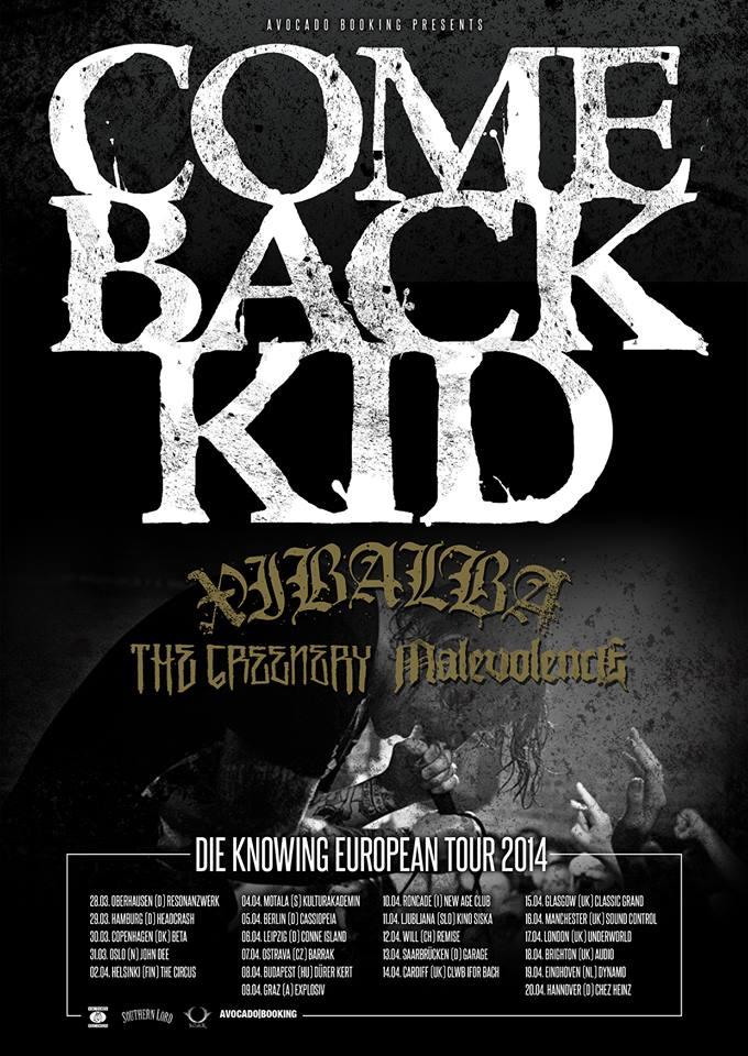 Comeback kid poster