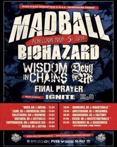 Madball og Biohazard til Amager Bio