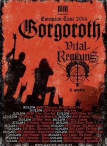 Gorgoroth og Vital Remains til Pumpehuset