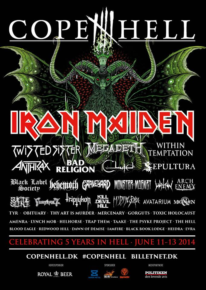 Copenhell 2014 final