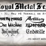 Vind billetter til Royal Metal Fest (lørdag)