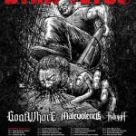 Dying fetus + Goatwhore m.fl. til Danmark!