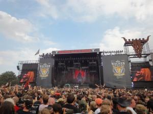 Hammerfall på Wacken 2014. Photo: Weiss