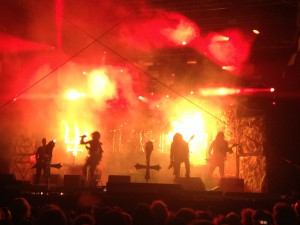 Watain, Malmö Festival, photo: Weiss