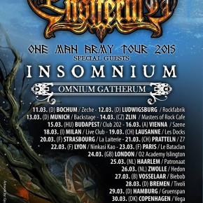 Ensiferum offentliggør support