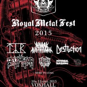 Nye danske navne til Royal Metal Fest 2015