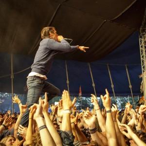 Honningbarna på Roskilde Festival. Foto: Henrik Moberg Jessen