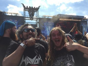 Devilution høvding og Weiss til Powerwolf på Wacken.