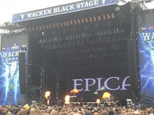 Epica på Wacken. Foto: Weiss