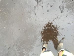 Gummistøvle selfie på Wacken. Foto: Weiss