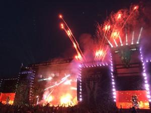 Sabaton på Wacken 2015. Foto: Weiss
