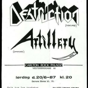 Destruction og Artillery til Pumpehuset!