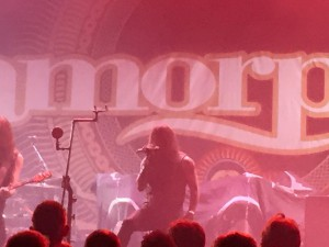 Amorphis i Falconer. Foto: Weiss