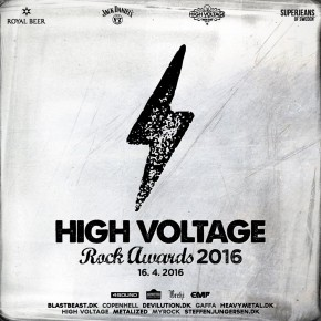 High Voltage Rock Awards er klar med line up!