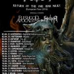 Heidra på stor Europa Tour
