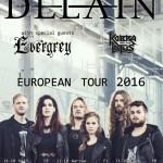 Delain + Evergrey til Pumpehuset!