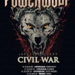 Powerwolf til Danmark