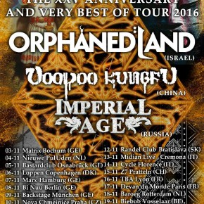 Orphaned Land til Loppen