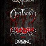 Obituary & Exodus til Danmark