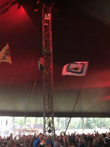 Letlive. Roskilde Festival 2016. Foto: Weiss