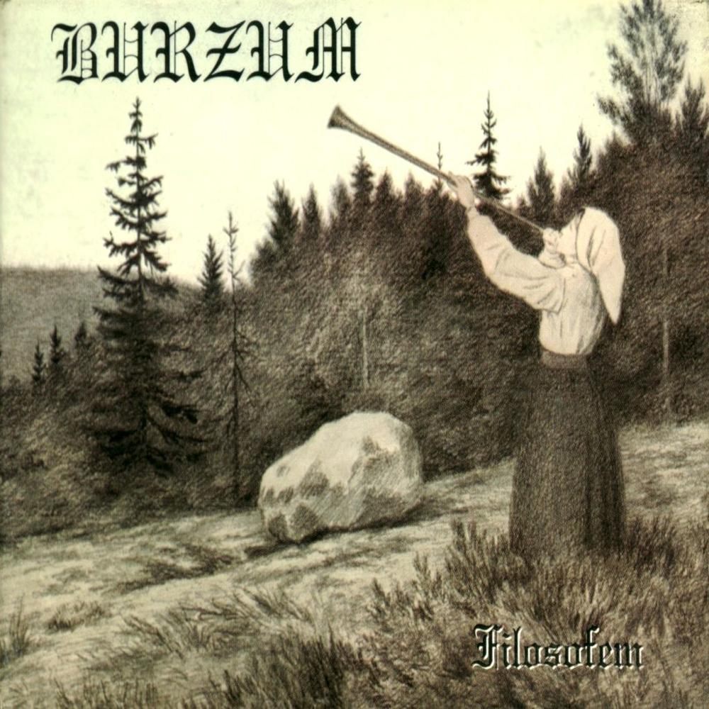"""Burzum - """"Filosofem"""". Maleri skabt af:"""