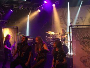 Heidevolk.på Hamburg Metal Dayz. Foto: Weiss