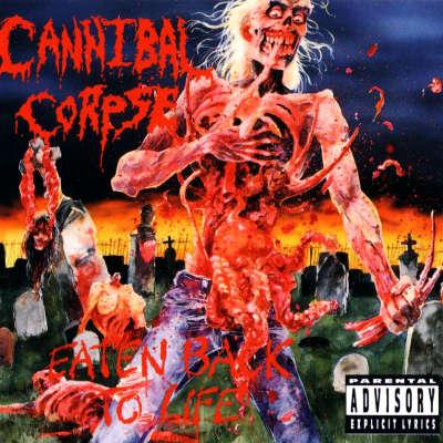 Cannibal Corpse - Eaten Back To Life. Tegnet af
