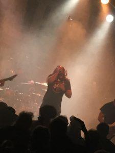 Unearth til Headbangers Ball i Hamburg. Foto: Weiss