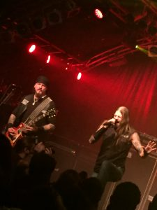 Iced Earth til Headbangers Ball Tour i Hamburg Foto: Weiss