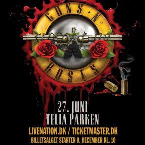 Guns N Roses til Danmark i 2017!