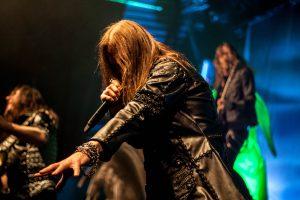 Hammerfall i Amager Bio. Foto: Jannie Ravn Madsen
