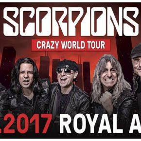Scorpions til Royal Arena