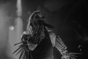 Hoest i front for Gorgoroth. Foto: Weiss