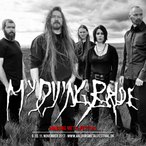 My Dying Bride til AMF 2017