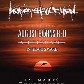 Heaven Shall Burn til Danmark