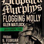Dropkick Murphys & Floggin Molly til Danmark