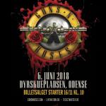 Guns N' Roses til Danmark