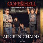 Alice In Chains & Deftones til Copenhell