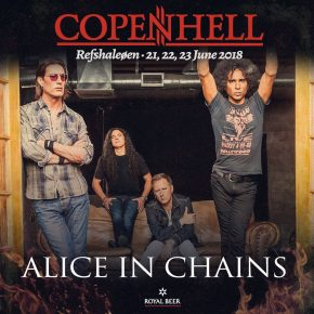Alice In Chains & Deftones til Copenhell